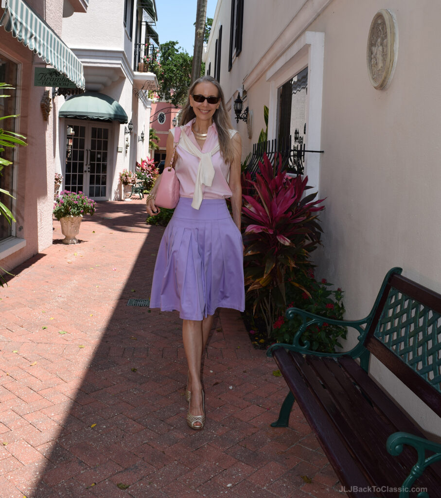Brooks-Brothers-Shirt-Chanel-Bag-Ann-Taylor-Cardigan-Lilly-Pulitzer-Shoes