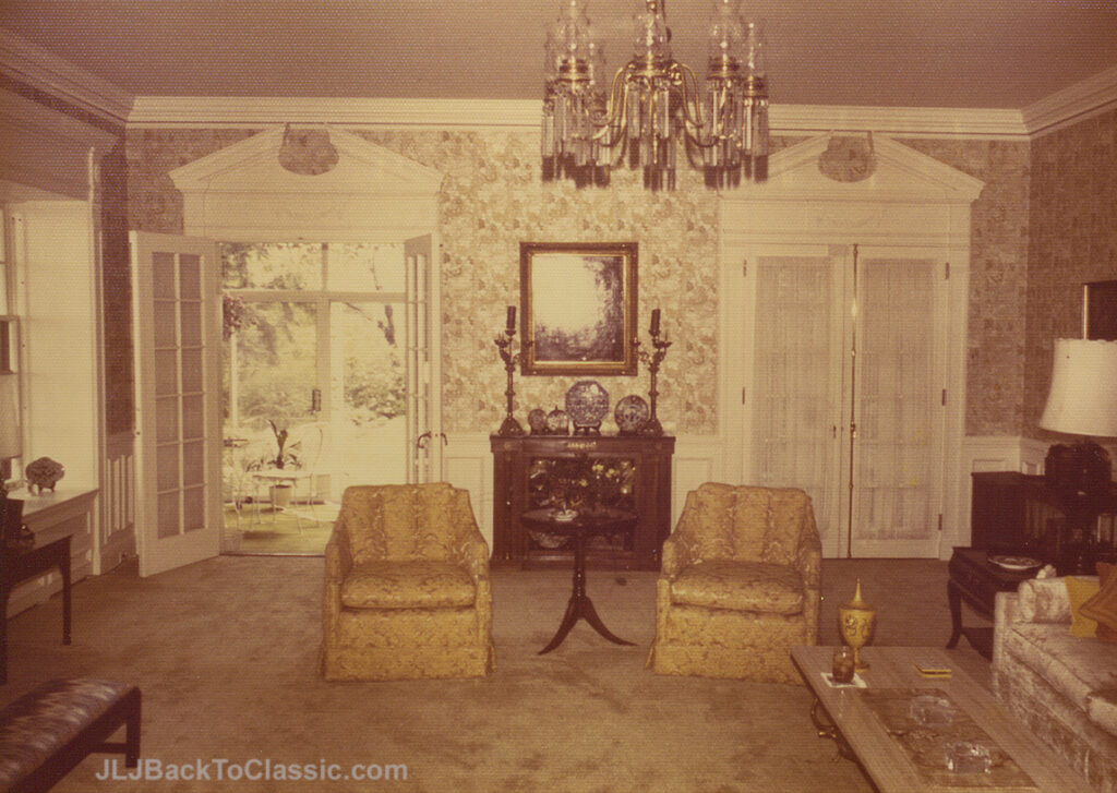 1928-Brandon-Smith-Tudor-Living-Room-View-To-Porch-Pgh-PA-1972