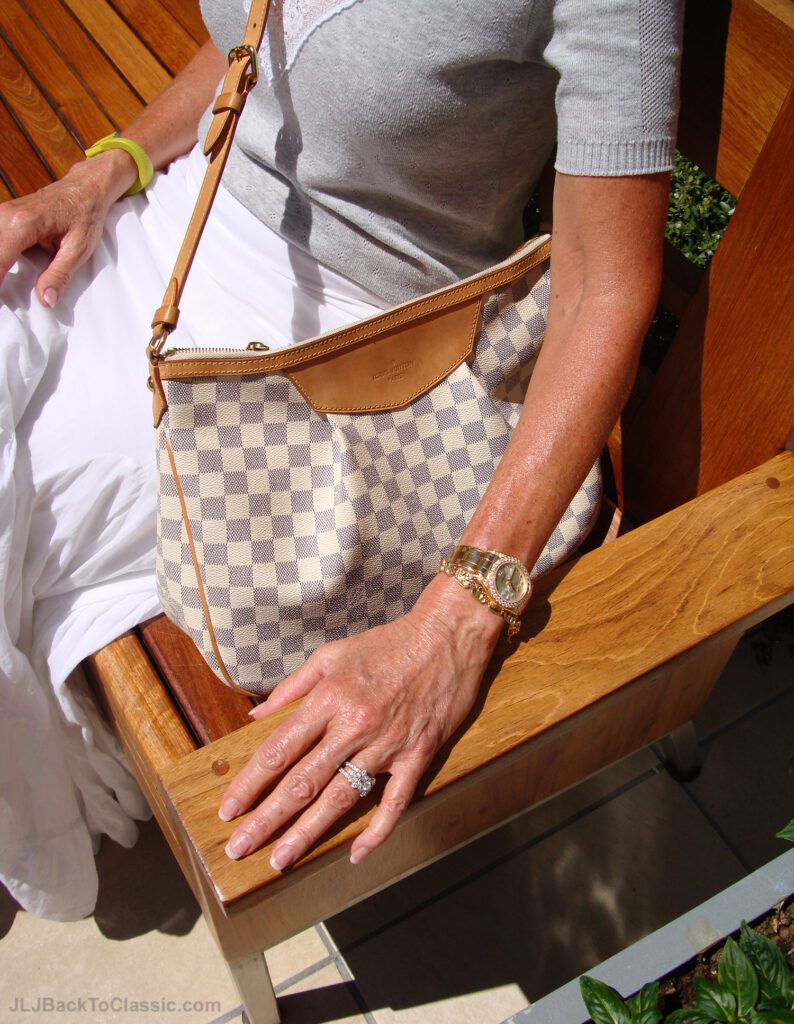 Classic-Fashion-Over-60-Maxi-Skirt-Louis-Vuitton-Bag-Rolex-Watch