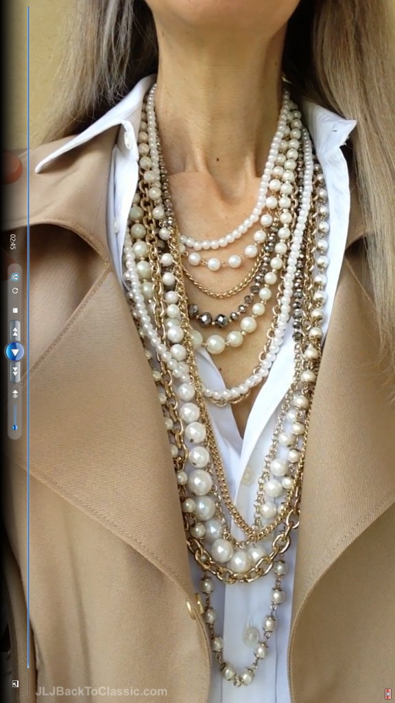 4Classic-Fashion-Over-40/50-Ann-Taylor-Moto-Jacket-Pearls-Prada-Bag