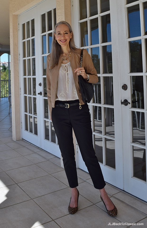 Banana-Republic-Blouse-And-Pumps-Michael-Kors-Wellesley-Ankle-Fit-Pants