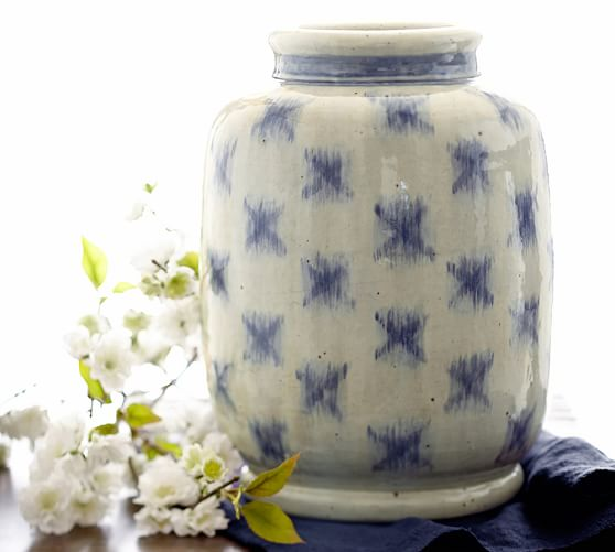 Blue-Ikat-Vase-Pottery-Barn