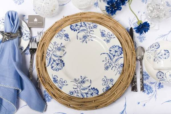 Video And Photographs Serene Living In Blue And White