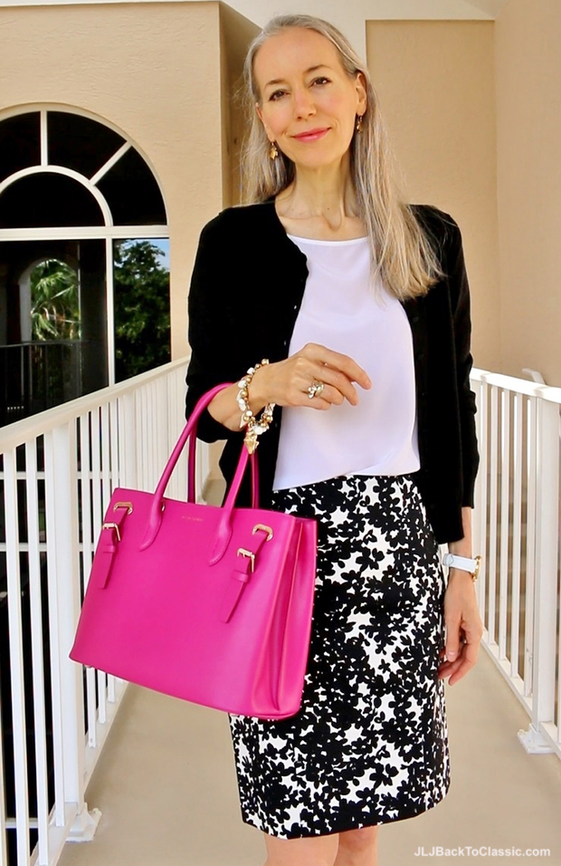 Black-Talbots-Cardigan-White-Lilly-Pulitzer-Top-Pink-Ralph-Lauren-Leather-Grommet-Tote