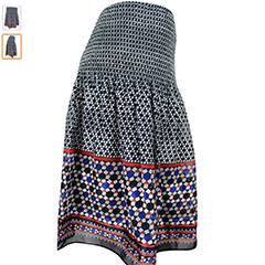 Max-Studio-Pull-On-Navy-And-Red-Pull-On-Skirt-Amazon