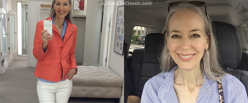 (Vlog) Classic Fashion Over 40/50: Eight Fall-Winter Wear Looks at Talbots, Plus My Two OOTDs