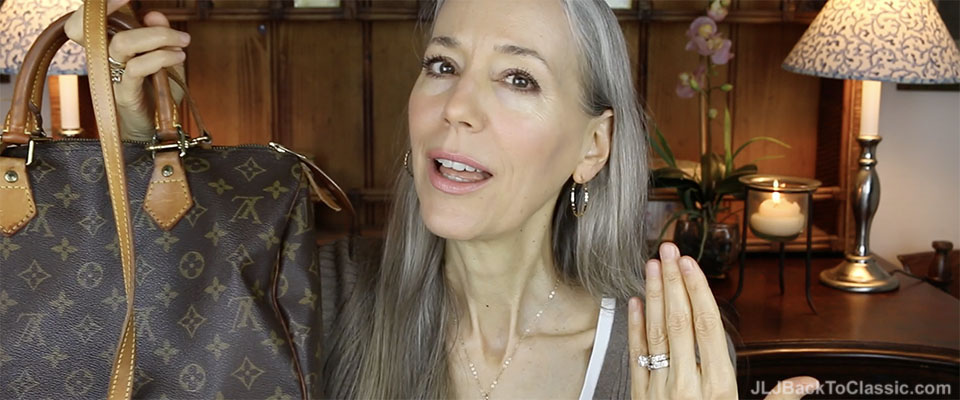 (Video) Classic Fashion Over 40/50: Designer-Handbag Shame Chat…and My (Small) Louis Vuitton Collection