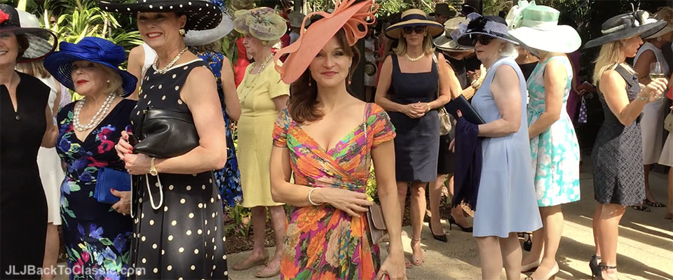 (Vlog) Classic Fashion Over 40/50: Hats In The Garden 2016 at Naples Botanical Garden, and What They Wore