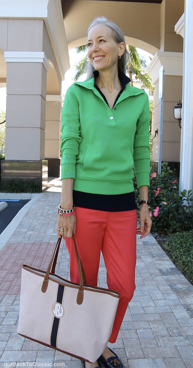Classic-Fashion-Over-40-Ralph-Lauren-Pullover-Talbots-Perfect-Crop-Barrington-Tote