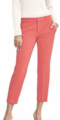Classic-Fashion-Over-40-50-Banana-Republic-Avery-Fit-Tailored-Crop-Coral
