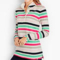 Classic-Fashion-Over-40-50-Talbots-Bright-Stripes-Pullover