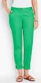 Classic-Fashion-Over-40-50-Talbots-Weekend-Chino-Green
