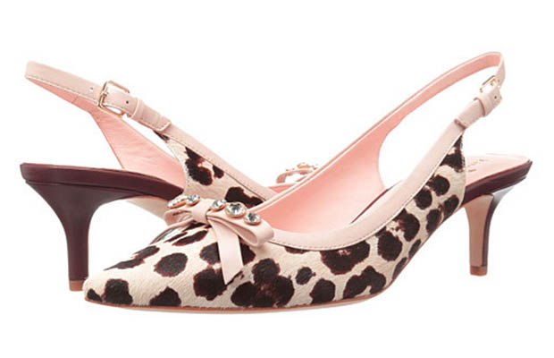 Classic-Fashion-Over-40-50-Kate-Spade-Palina-Leopard-Print-Calf-Hair