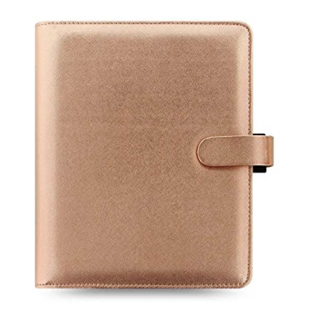 Classic-Home-Office-Organization-Filofax-A%-Rose-Gold-Binder