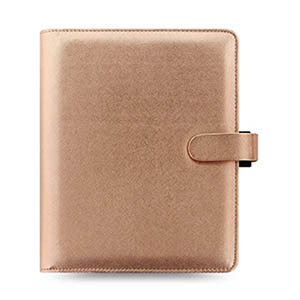 Classic-Home-Office-Organization-Filofax-A5-Rose-Gold-Binder