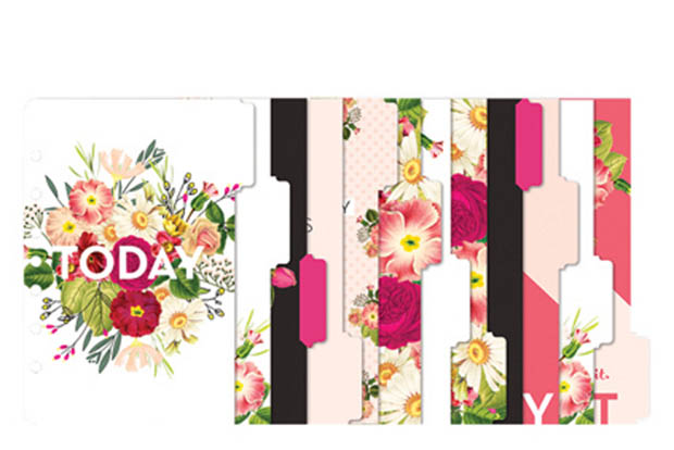 Franklin-Covey-Planner-Love-Botanicals-12-Tab-Dividers