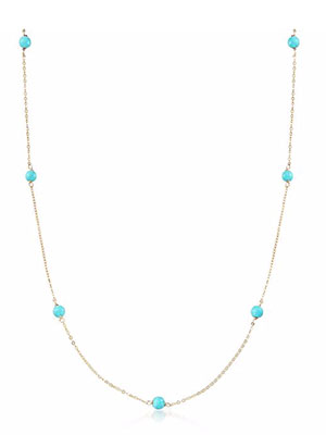 Classic-Fashion-Over-40-14k-Gold-Turquoise-Station-Necklace-Ross-SImons