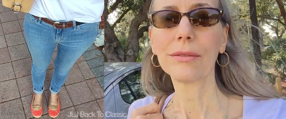(Vlog) Classic Lifestyle Over 40/50: Running Errands, Lunch/Shopping With My Brother at Food & Thought Organic Market, and My OOTD