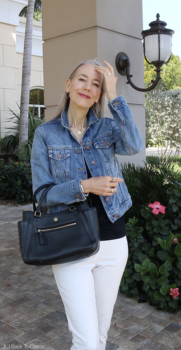 Classic-Fashion-Over-40-Gap-1969-Denim-Jacket-Tory-Burch-Frances-Satchel