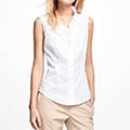 Brooks-Brothers-Sleeveless-White-Ruffle-Blouse