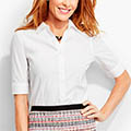 Classic-Fashion-Over-40-Talbots-Perfect-Elbow-Sleeve-Shirt