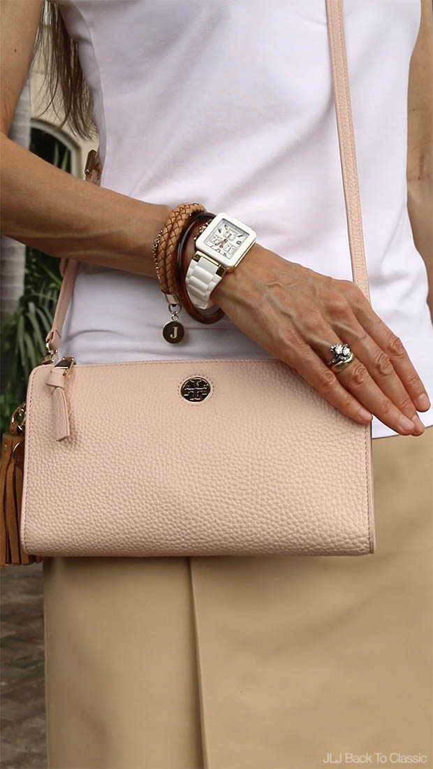 Classic-Fashion-Michele-Jelly-Watch-Tory-Burch-Robinson-Wallet-Crossbody