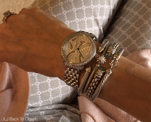 Classic-Style-Over-40-Michele-Serein-Watch-David-Yurman-Cable-Classic-Bracelets