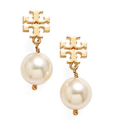 Tory-Burch-Logo-Pearl-Drop-Earrings