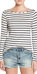 Amour-Vert-Long-Sleeve-Striped-Tee