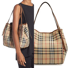 Burberry-Small-Canter-Check-And-Leather-Tote