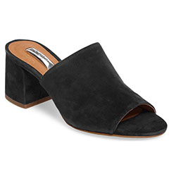 Halogen-Freda-Slide-Black-Suede