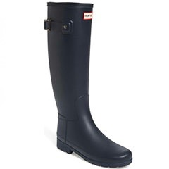 Hunter-Original-Refined-Tall-Rain-Boot-Navy