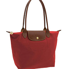 Longchamp-Le-Pliage-Small-Shoulder-Tote-Red