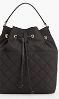 Talbots-Black-Quilted-Backpack