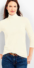 Talbots-Ivory-Long-Sleeve-Turtleneck