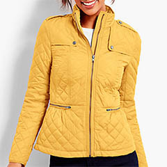 Talbots-Quilted-Military-Coat-Saffron