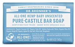 Dr.-Bronner's-Organic-Baby-Unscented-Castile-Bar-Soap