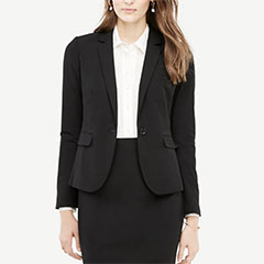 Ann-Taylor-Seasonless-Stretch-One-Button-Blazer