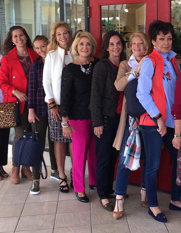Real-Woman-Model-In-Talbots-Waterside-Shops-Trunk-Show-Naples-Florida