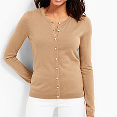 Talbots-Almond-Heather-Charming-Cardigan