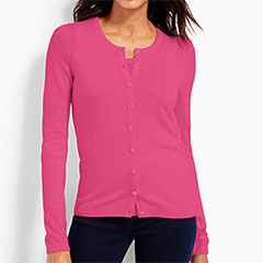Talbots-Charming-Cardigan-and-Shell-Hot-Pink