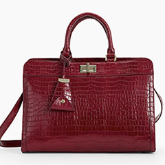 Talbots-Crocodile-Embossed-Statement-Bag-Anniversary-Collection
