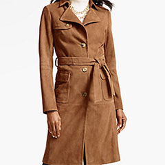 Talbots-Suede-Belted-Trench-Coat