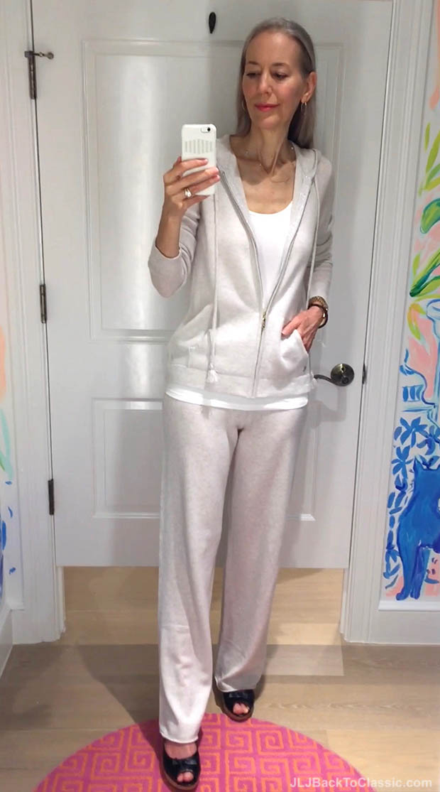 Classic-Fashion-Over-40-50-Lilly-Pulitzer-Cashmere-Zip-Up-And-Pant
