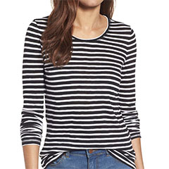 Caslon-Striped-Long-Sleeve-Crewneck-Cotton-Tee