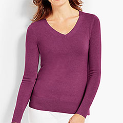 Talbots-Cashmere-V-Neck-Sweater-Purple-Passion