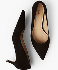 Talbots-Erica-Kitten-Heel-Pumps-Black-Suede