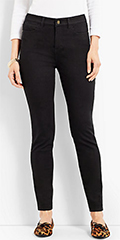 Talbots-Black-High-waist-Skinny-Jean-Jegging