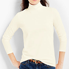 Talbots-Long-Sleeve-Cotton-Spandex-Turtleneck-Ivory