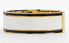 talbots-striped-statement-bangle-ivory-black-gold